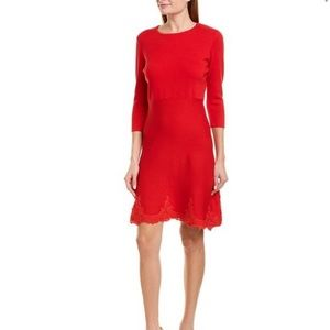 Nanette Lapore luciana knit medium red